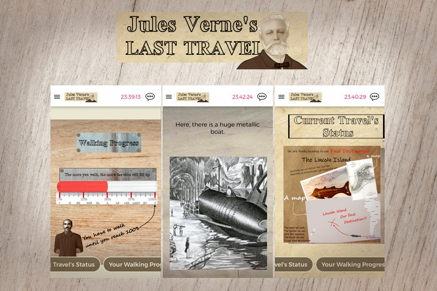 Screenshots from the game Jules Verne's last travel